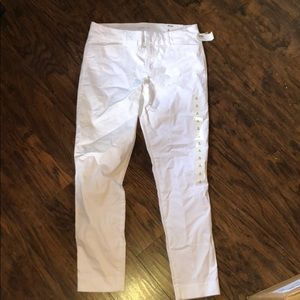 New white old navy Pixie jeans